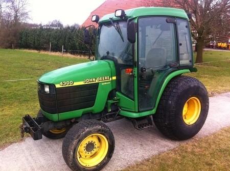 John Deere 4200 4300 4400 Compact Tractor Service Repair Manual Cat Excavator Service